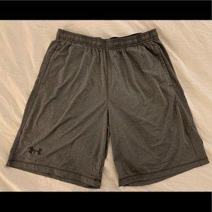 Under Armour Men's Raid Grey Shorts XL